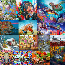 Colorful DIY Paint By Numbers Kit Digital Acrylic Oil Painting Home Office Decor