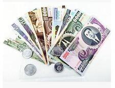 Korea Banknote Set In Folder (UNC) 朝鲜钱币纪念币册第四套币1-200元和1-5000元全套 1元为纪念币