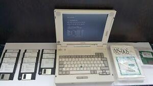 VINTAGE COMPAQ LTE 5280 PENTIUM 120MHz 32MB RAM LAPTOP, WORKING. DOS GAMING!