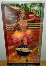 NIB-2011 DANCING WITH THE STARS SAMBA BARBIE DOLL PINK LABEL EXOTIC COSTUME!