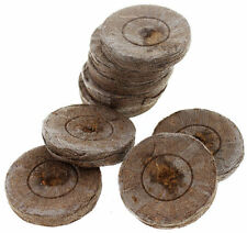 Jiffy Peat Pellets, 42mm - 100ct, Growing Supplies, Seed Starting, Peat Pellets