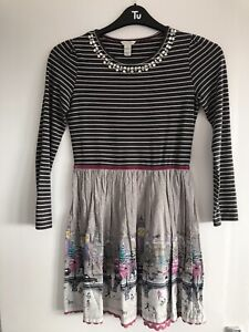 MONSOON DRESS WINTER SCENE AGE 12-13 YEARS REALLY GOOD CONDITION PLEASE READ