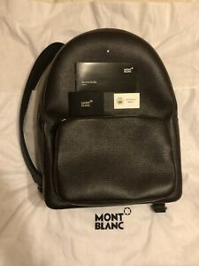 MONTBLANC Meisterstuck Selection Large Backpack Brown Leather Italy 119289 $935