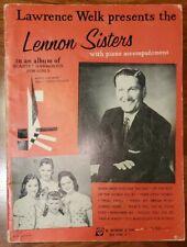 VINTAGE 1949 ALBUM OF QUARTET HARMONY: LAWRENCE WELK PRESENTS THE LENNON SISTERS