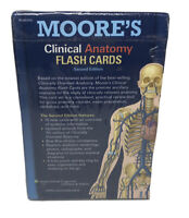 Moore's Clinical Anatomy Flash Cards: By Gould, Douglas J. 2nd Edition Free Ship