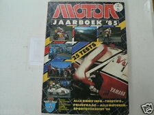 MOTOR JAARBOEK 1985, 25 MOTO TESTS,ALL BIKES,CROSS,LAVERDA 1000,RD500LC YAMAHA