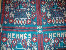 AUTH HERMES `Kelly en Perles` Silk Shawl(140cm x 140cm)