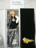 "13"" BLACK CANARY TONNER DOLL DC STARS ACTION FIGURE COMIC BOOK HEROINE NRFB"