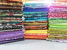 Lot of 25 Beautiful Fat Quarters, 100% Cotton