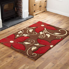 Floral Machine Made Rugs
