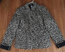 Jones New York Collection Leopard Print Women's Jacket - Size 4
