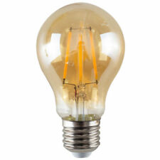 3x LED Filament GLS 4w E27 Energy saving Globe Light   Bulb  A60 Equivalent 50w