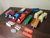 2009 Mattel Thomas&Friends Trackmaster Train Engine Lot Percy Duck James Gullane