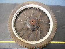 1977 Suzuki RM250B RM 250 B AHRMA Vintage Front Wheel HUB Rim 21''