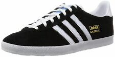 Adidas Original Gazelle OG Black White Mens Suede Trainers