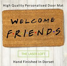 Coir Door Mat Friends TV Show Welcome Funny Novelty, Can Be Personalised