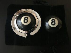 Pool Ball Hanger & Pocket Marker Set (8 Ball)