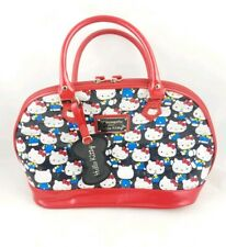 Hello Kitty Loungefly Multi Print Purse Bag Very Rare Print Hard To Find