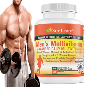 Men's Multivitamin  Energizers and B-Vitamin Complex Immune Prostate Support