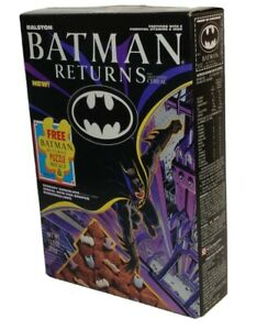 Sealed & New Batman Returns Vintage Cereal Sealed in Box 1992 Ralston w/ Puzzle
