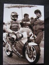 Photo Campsa Honda NSR250 #2 Sito Pons (ESP) GP Sweden Anderstorp 1987