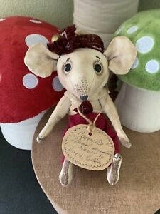 HANDMADE OOAK  Mouse Cornelie by DARIA SIKORA MYPRIMITIVEDOLLS