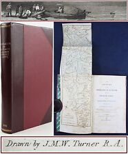 1805*EXCURSION TO THE HIGHLANDS OF SCOTLAND & ENGLISH LAKES*MAP*TURNER PAINTINGS