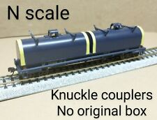 Union Pacific UP coil car N scale Walthers blue steel mill rolling round hood RR