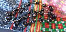 Old Italian Venetian Handmade Murano Glass Beads …beautiful collector's piece...