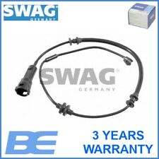 Vauxhall Opel Fiat Front Left BRAKE PAD WEAR WARNING CONTACT OEM Swag 40922072