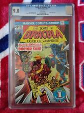 Tomb of Dracula 42 ,CGC 9.8 White pages, Blade appearance