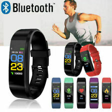 Smart Watch FITBIT Heart Rate Blood Pressure Monitor Fitness Tracker ID115Plus
