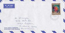BD204) Penrhyn OHMS Air mail cover bearing: Commonwealth Day. Price: $6