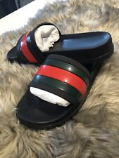 Gucci Trek 72 Slides Flip Flops Slippers Shoes Mes US size 11