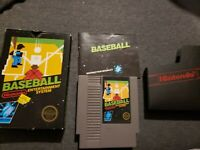 Nintendo NES Baseball Sticker Seal Hangtab 5 Screw CIB