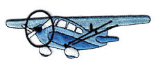 "Airplane (4"" x 1 1/4"") Iron On Patch Plane Transportation Flying Aircraft"