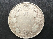1929 Canada Fifty Cents George V Silver Canadian Coin A2037
