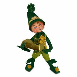 Annalee Dolls 2021 St. Patrick's Day 9in Leprechaun Boy Elf Plush New with Tags