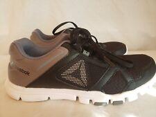 Reebok Women s Sz 8.5Yourflex Trainette 10 MT Cross Training Shoes BS9884  Black 8b8b3153b