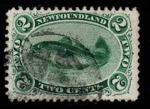 #24 Newfoundland Canada used well centered