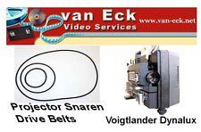 Voigtlander Dynalux 8 Sound (BT-0498-MST) New - 3 belt set