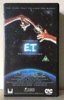 E.T. The Extra Terrestrial VHS Video Tape 1982 Original Steven Spielberg - 80's