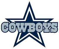Dallas Cowboys Decal ~ Car / Truck Vinyl Sticker - Cornhole, Wall Graphics