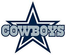 Dallas Cowboys Decal ~ Car / Truck Vinyl Sticker - Cornhole, Wall Graphics