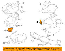 SUBARU OEM 09-13 Forester Cross Over Pipe Gasket 44011FA020, QTY. 1