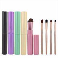 5pcs Pro Makeup Brushes Set Kabuki Foundation Powder Eyeshadow Eyeliner Brush