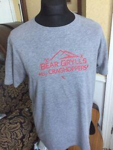 Bear Grylls Craghopper T Shirt Size M