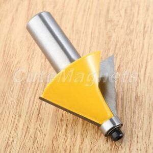 """1/2"""" Shank 30 Degree Router Bit Woodworking Cutter Mortise Chisel Template Tool"""