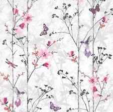 Muriva 102550 Novelties Eden Wallpaper Rolls Pink