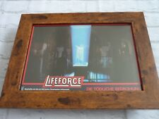 Framed Lobby card Front house Press Promo Photo A4 Import German Lifeforce #1